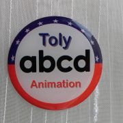 Pin's TOLYANIMATION - ABCD