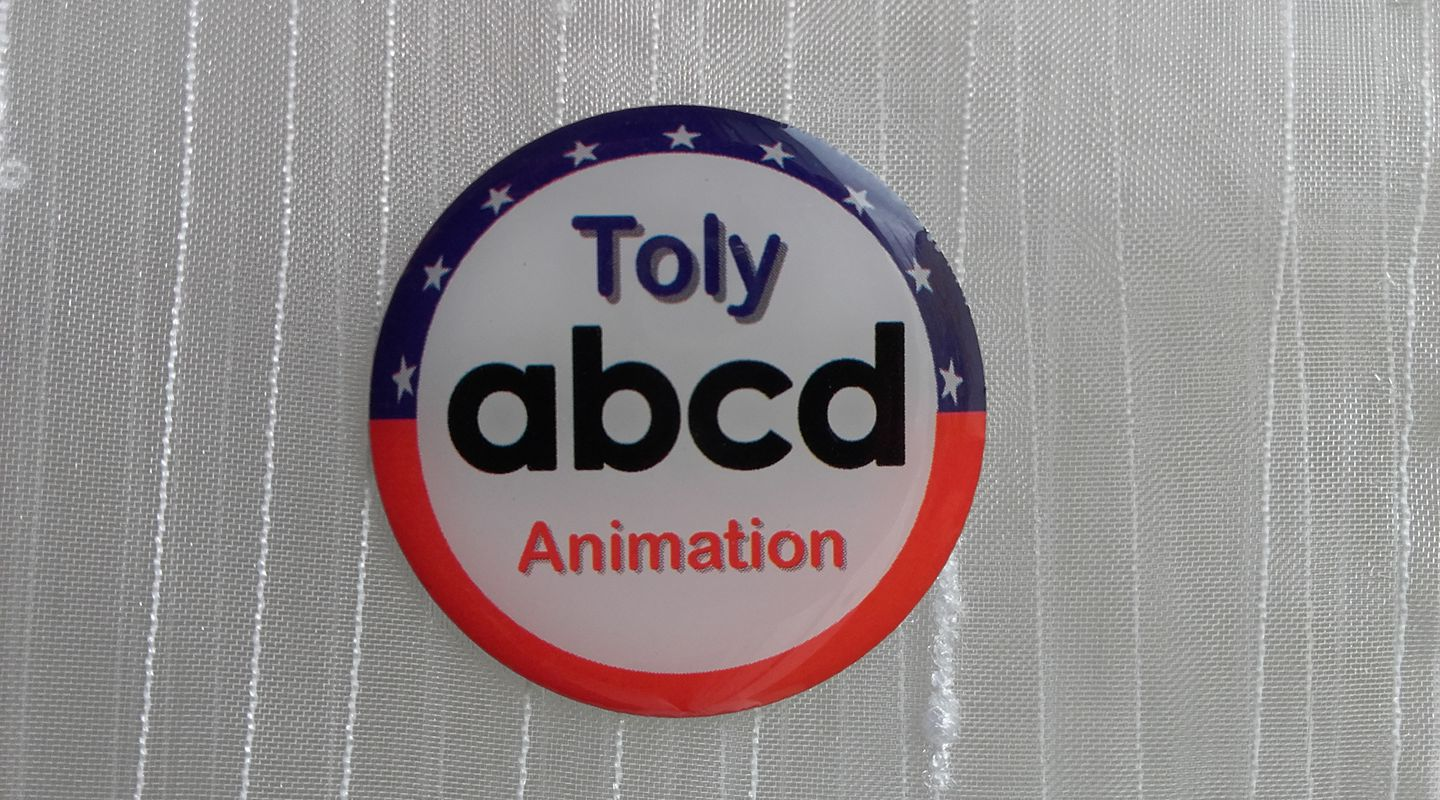 Pin's Toly Animation – ABCD