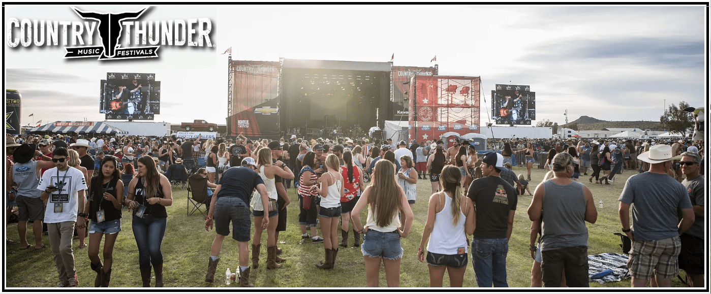 FESTIVAL COUNTRY THUNDER ARIZONA PART#1